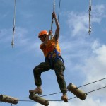 Marine Military Academy Summer Camp High Ropes Adventure