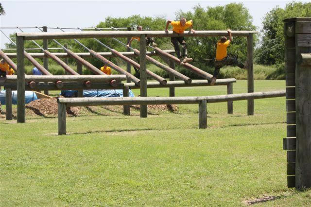 Camper Vs Marine Corps Obstacle Course